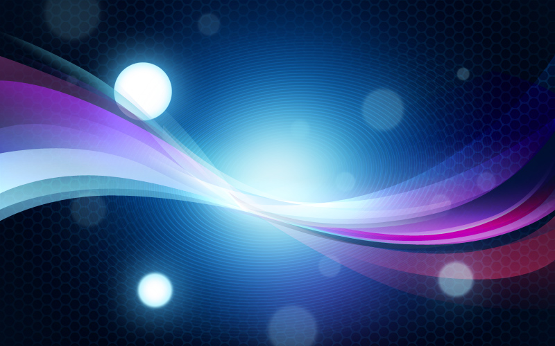 Abstract colorful background with bokeh effect - Free PSD Files