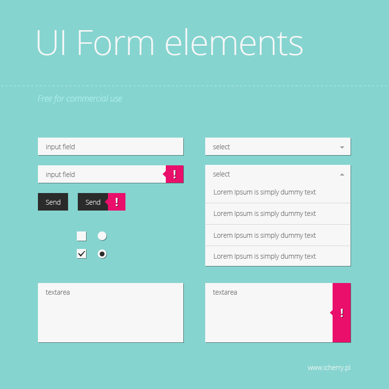 free form ui  UI form element - Free PSD Files, Photoshop Resources ...