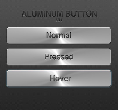 Metal texture button psd file