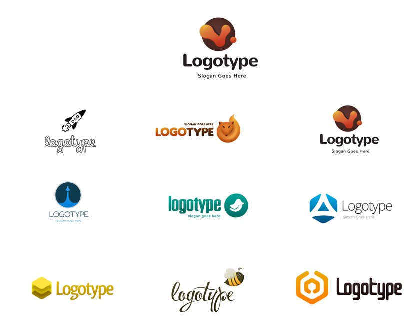 Logo Design Templates Psd File