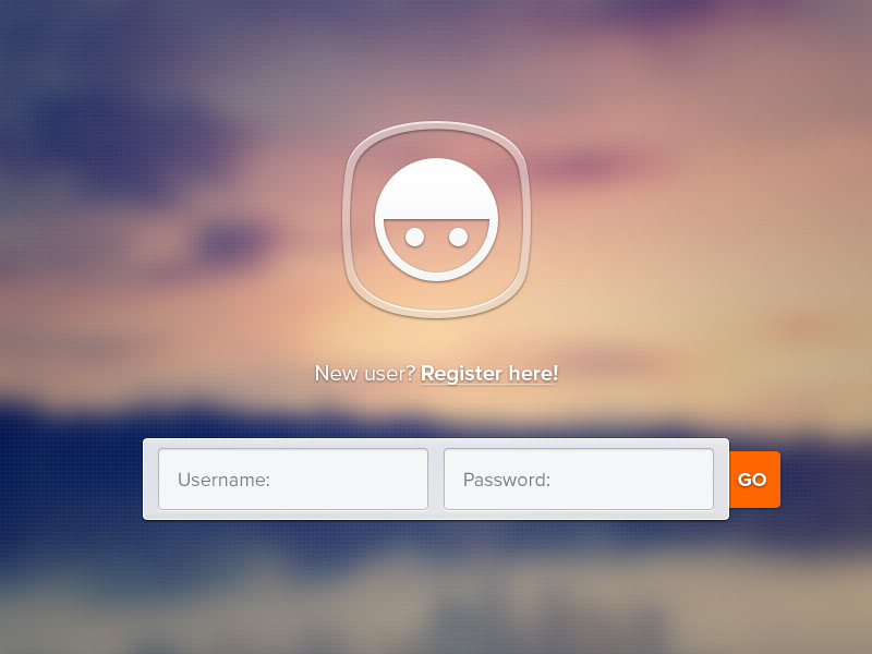 Bokeh user login