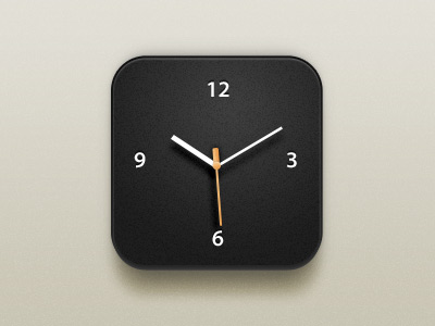 Simple clock design materials