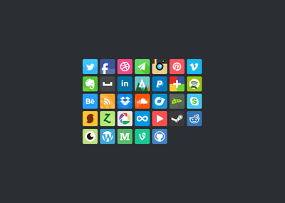 Bean Social Icon Psd