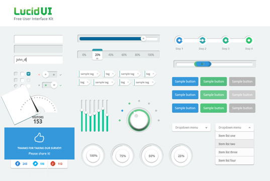 Simple user Interface UI Kit