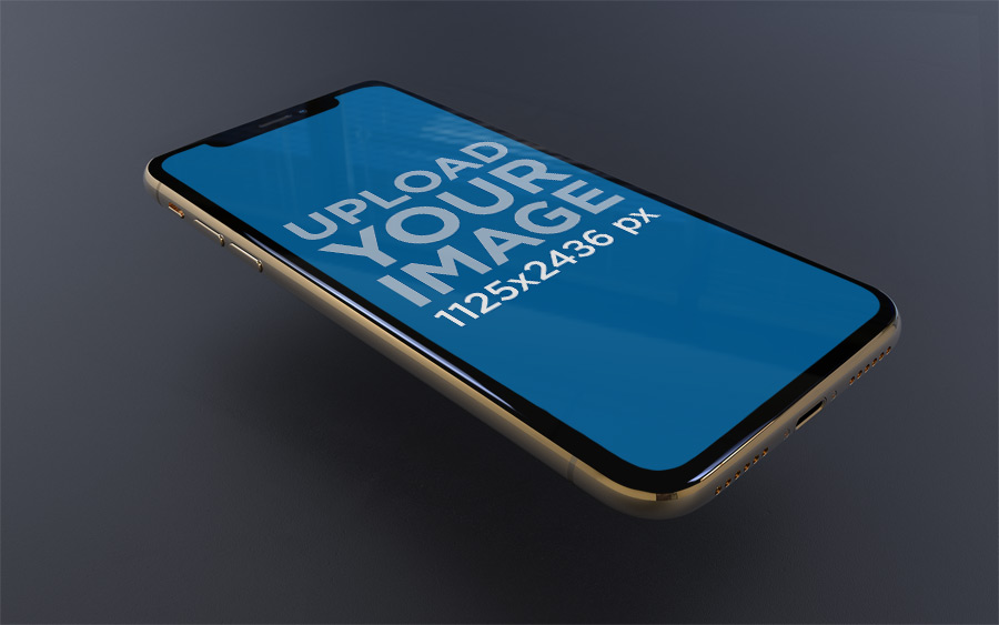iPhone XS Mockup Psd File