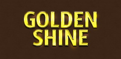 free psd gold shiny text effect