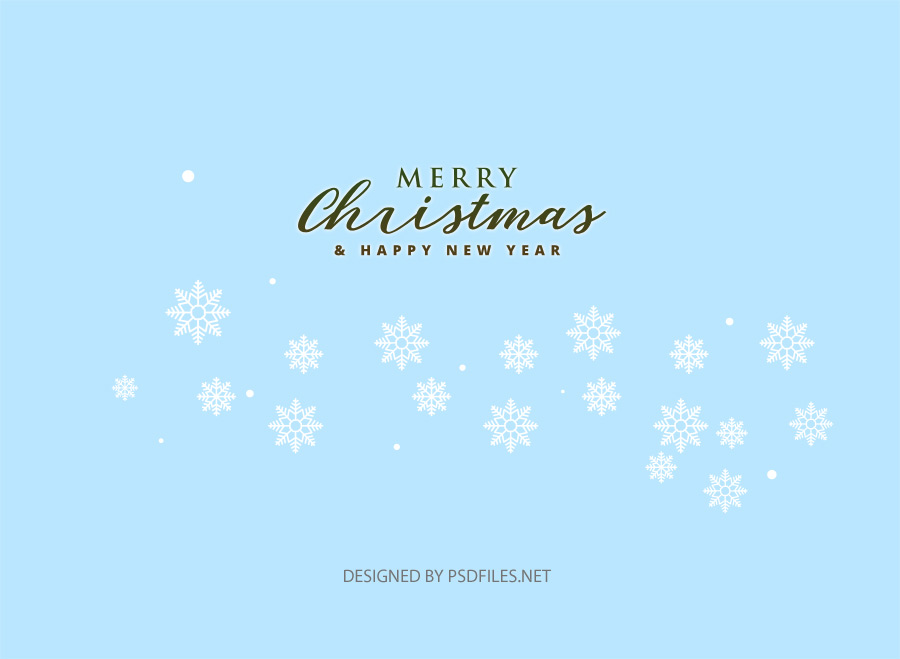 Christmas Hipster Snowflake Elements Vector PSD