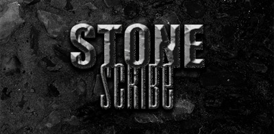 Psd Movie stone texture text effect