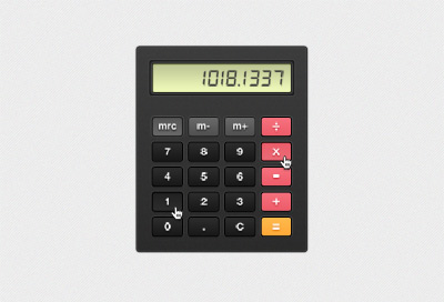 Vector calculator Psd file