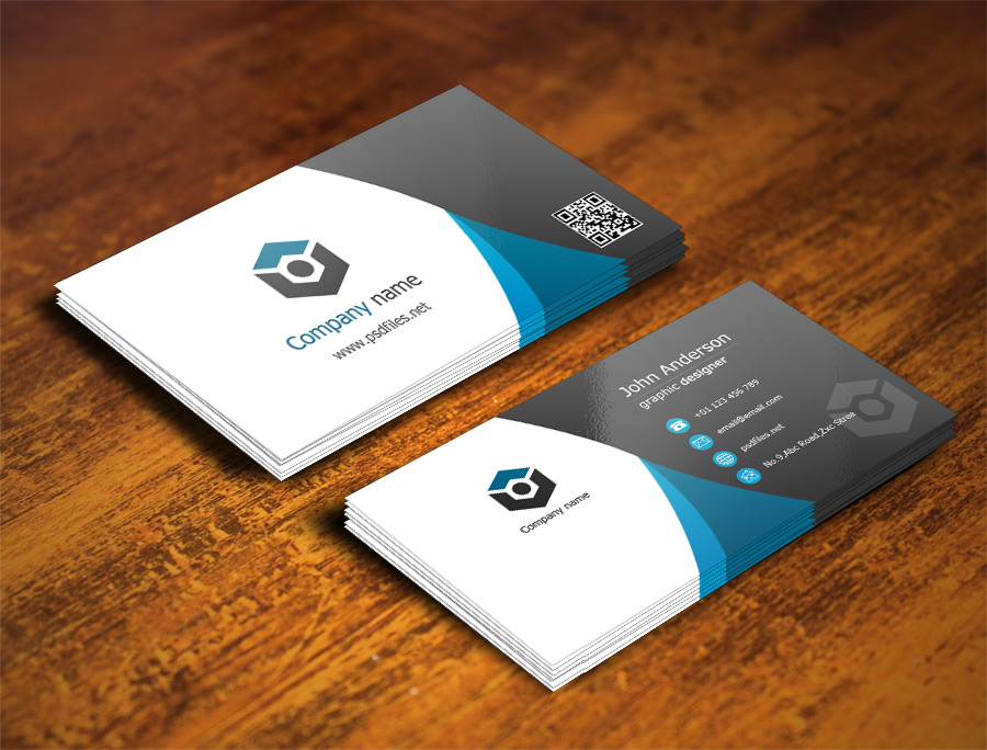 Creative Business Card Template Free PSD