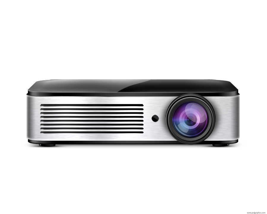 Video projector icon psd
